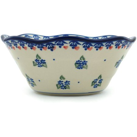 Polmedia Daisy Dollops Fluted Rice Bowl