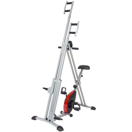 Best Choice Products Total Body 2 In 1 Vertical Climber Magnetic Exercise Bike Fitness Machine