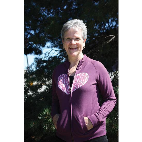 Speedway Heart Ladies Cadet Jacket, Purple, Size XL