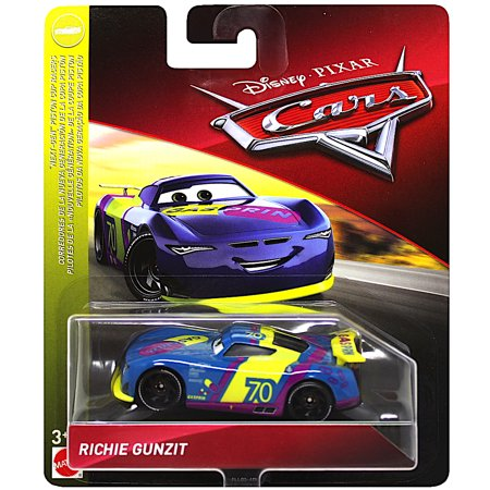 Richie Gunzit Nex-Gen Piston Cup Racers Disney Cars Diecast 1:55 Scale