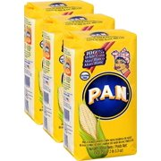 P.A.N. Precooked White Corn Meal 35.7 oz. Pack of 3
