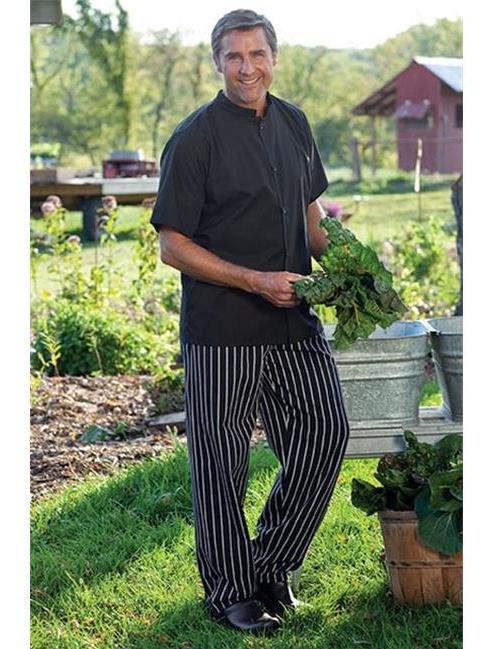 4010-4103 Traditional Chef Pant in Chalk Stripe - Medium
