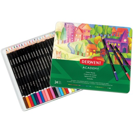 Mead Derwent Academy Colour Pencils (Academy Colour)