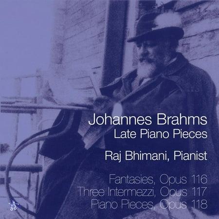 Johannes Brahms: Late Piano Pieces (CD) (Johannes Brahms Piano Pieces)