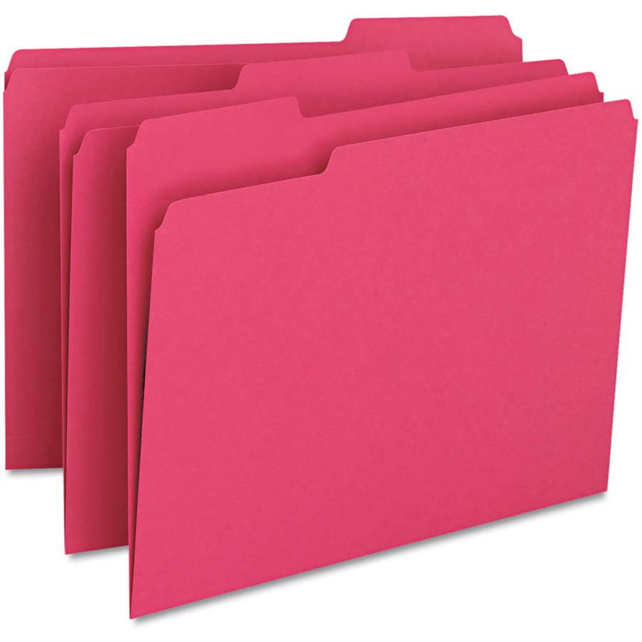 Smead File Folders, 1/3 Cut, Top Tab, 100-Box