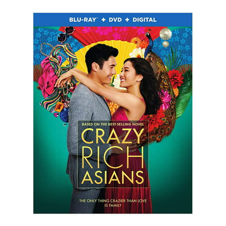 Crazy Rich Asians (Blu-ray + DVD + Digital Combo - Movie Adults Online