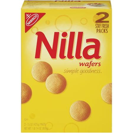 Nabisco Nilla Wafers 2 pack, 15oz box