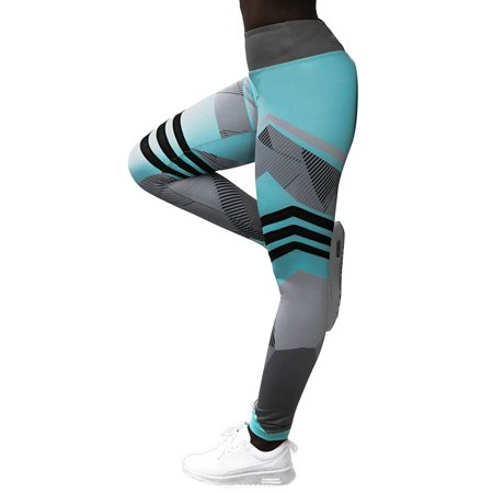 Women Sport Yoga Pants Ladies Fitness Running Training Leggings Stretch (Womens Warm Up Training Pant)