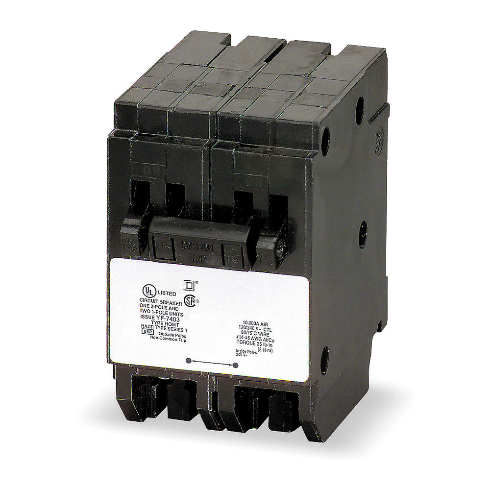 SQUARE D Plug In Circuit Breaker HOMT2020230