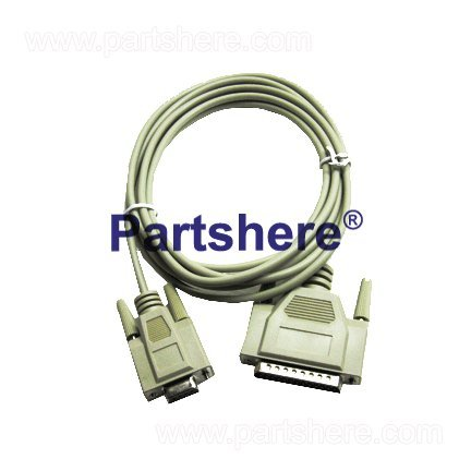 HP 24542G OEM - RS-232C serial cable - 25-pin (M) to 9-pin (F) - 3.0m (9.8