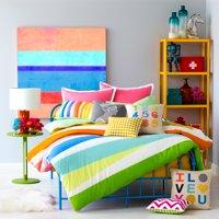 9 by Novogratz Rainbow Wrap Duvet Set