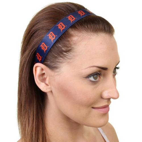 Detroit Tigers Women's Headband - Navy - No Size