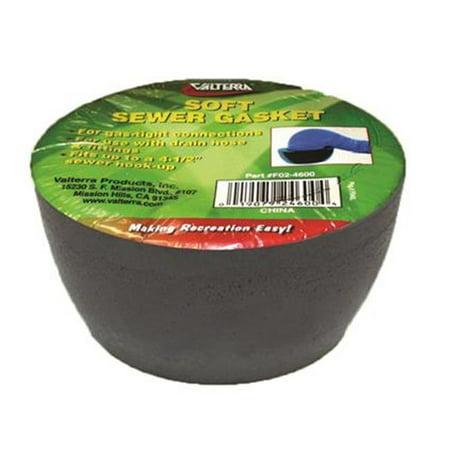 VALTERRA LLC F024600 Sewer Sponge Ring Hose Seal, 4 X 3 In.
