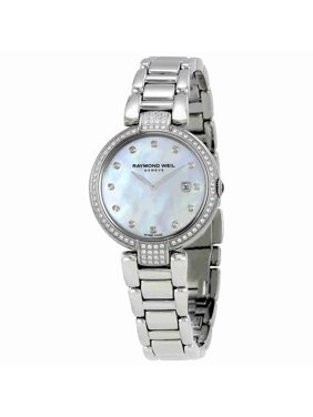 Raymond Weil Shine Mother of Pearl Dial Ladies Watch 1600-SCS-97081