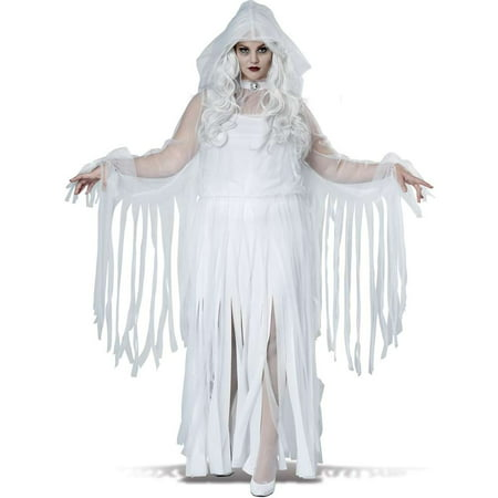 Ghostly Spirit Plus Size Costume](Ghostly Ghoul Costume)