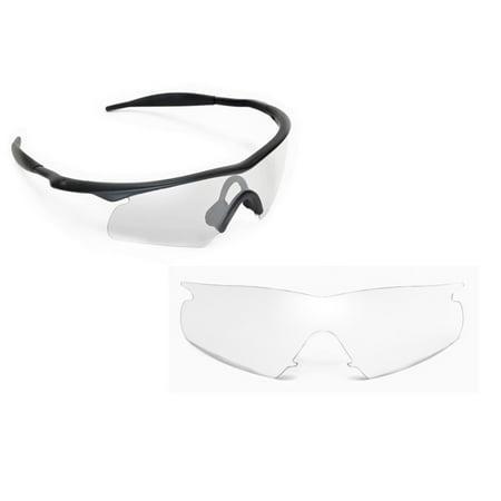 Frame Hybrid Replacement Lenses (M Frame Hybrid Replacement Lenses Crystal Clear by SEEK fits OAKLEY)