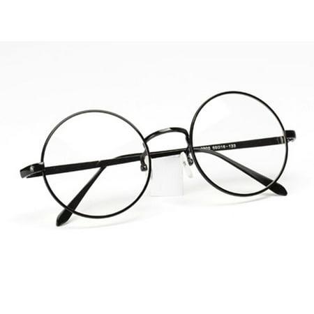 New Designer Retro Clear Lens Nerd Frames Glasses Mens Womens ...