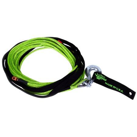 Daystar 1400001 Winch Cable Voodoo Offroad 9700 Pound Capacity; 1/4 Diameter x 50 Foot Length; Nylon; With Terminal End/ Hook End - image 1 de 1