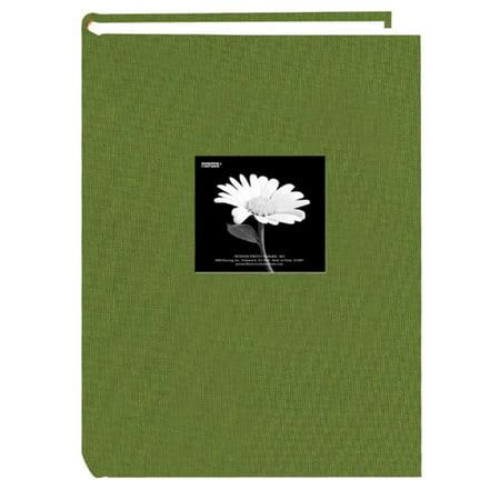 Pioneer DA-300CBFN 4x6 Natural Colors Cloth Frame Album Herbal Green