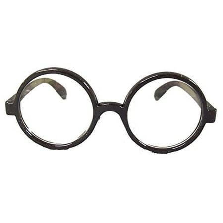 HP Round Lens Eyeglasses Nerd Geek Harry Potter Waldo Costume Accessory - Waldo Glasses And Hat