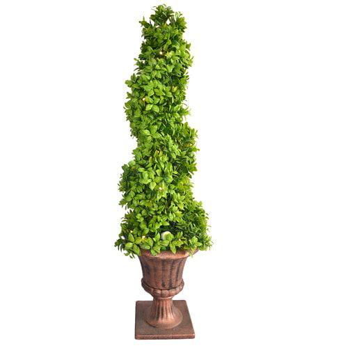 Fleur De Lis Living Floor Ceder Topiary in Urn