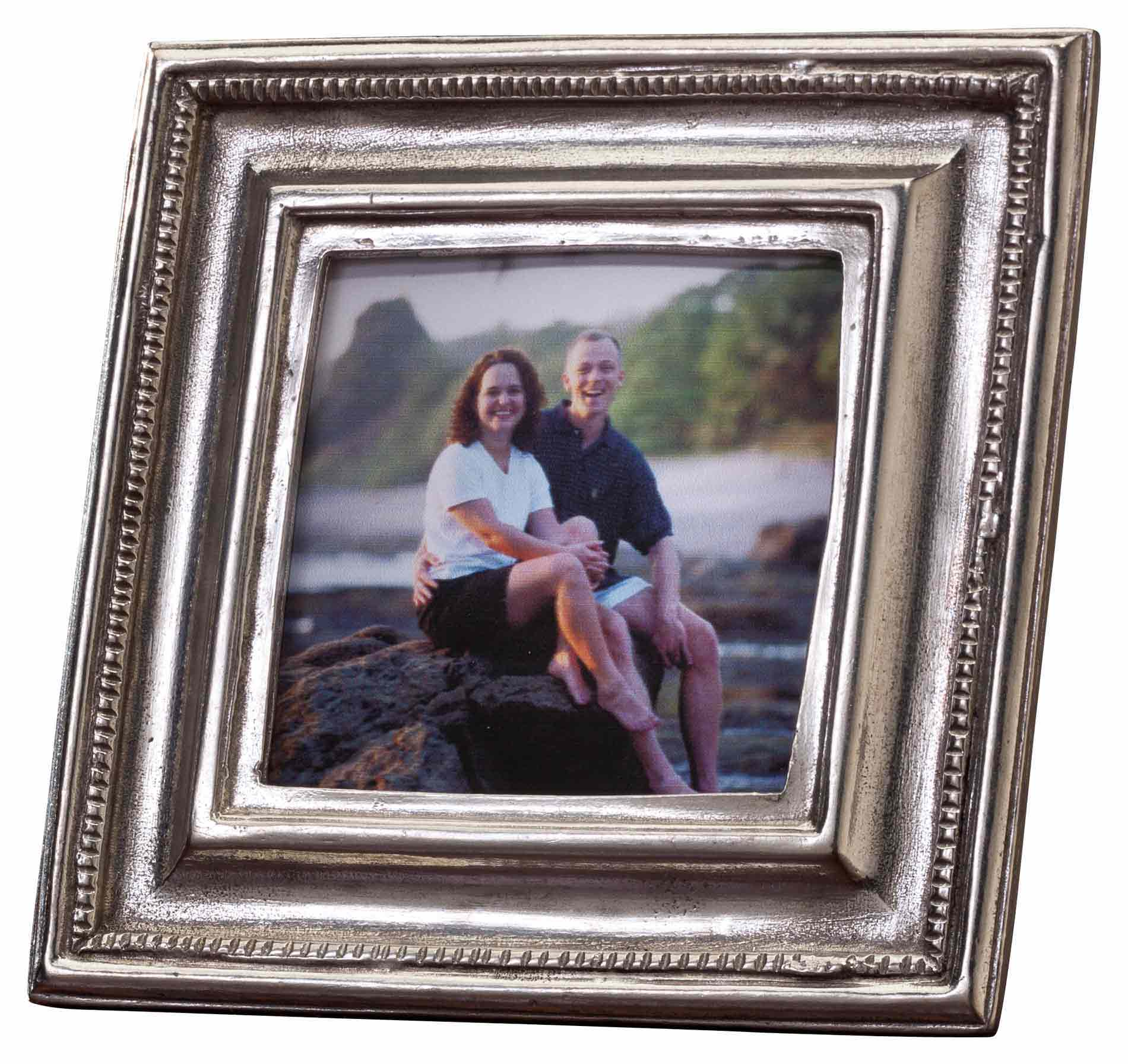 Exposures   Square Pewter Frame