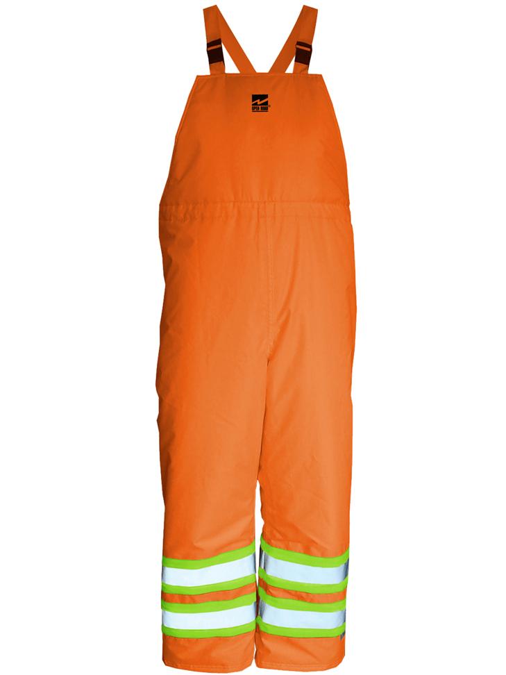 Big Men's Hi-Vis Insulated 150D Bib Pants