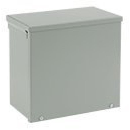 Hoffman A18R186 NEMA 3R Enclosure, Screw Cover, Galvanized, Paint Finish, 18