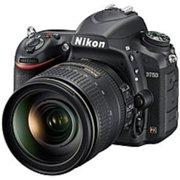 Nikon 1549 D750 24.3 Megapixel Digital SLR Camera with Lens - 24 mm-120 mm - 3.2in LCD - 16:9 - 5x Optical Zoom - i-TTL - 6016 x 4016 Image - 1920 x 1080 Video - HDMI - HD Movie Mode