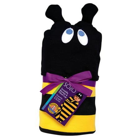 SOZO Bumblebee Swaddle Blanket & Cap Set