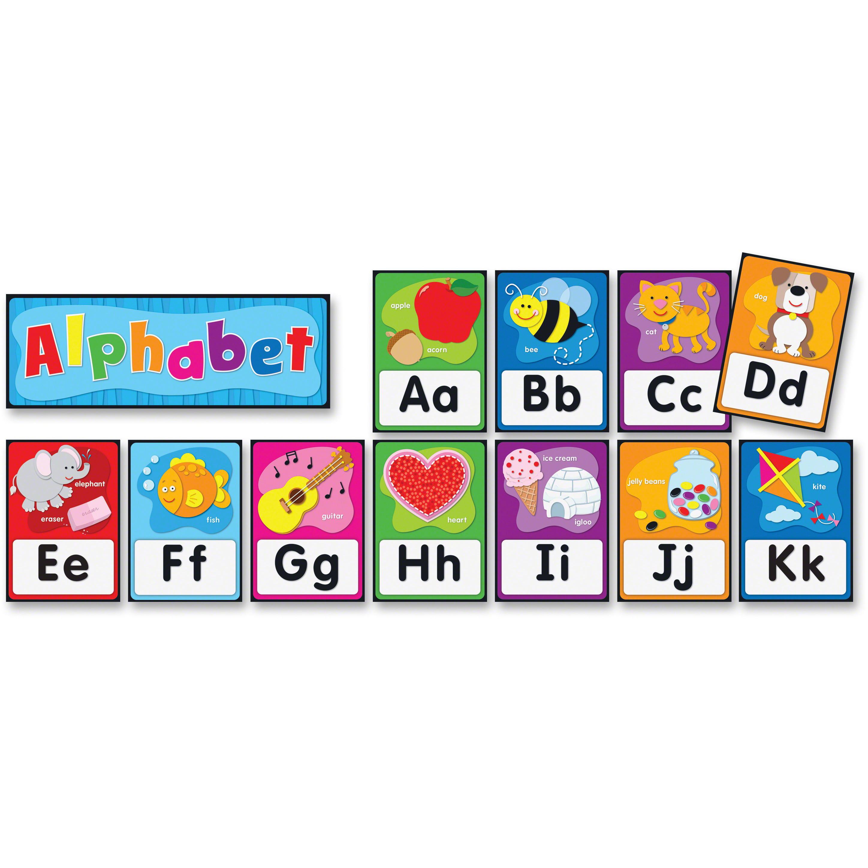 Carson-Dellosa Alphabet Bulletin Board Set 27 total pieces, pieces; 26 1 header by Carson-Dellosa Publishing Co., Inc