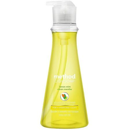 Method Dish Soap Pump Bottle, Lemon Mint 18 oz (Pack of - Method Dish Soap