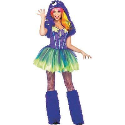 Womens Monster Costumes (IN-13637703 Purple Posh Monster Halloween Costume for Women)