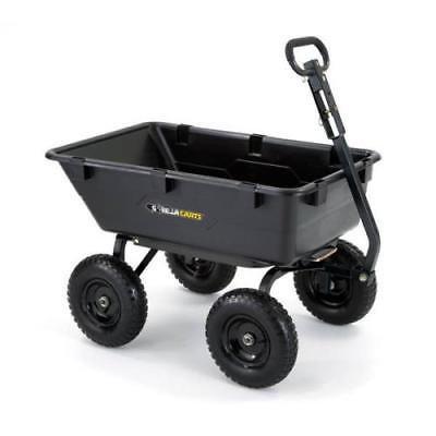 Gorilla Carts Garden Dump Cart, Capacity: 1200 lb
