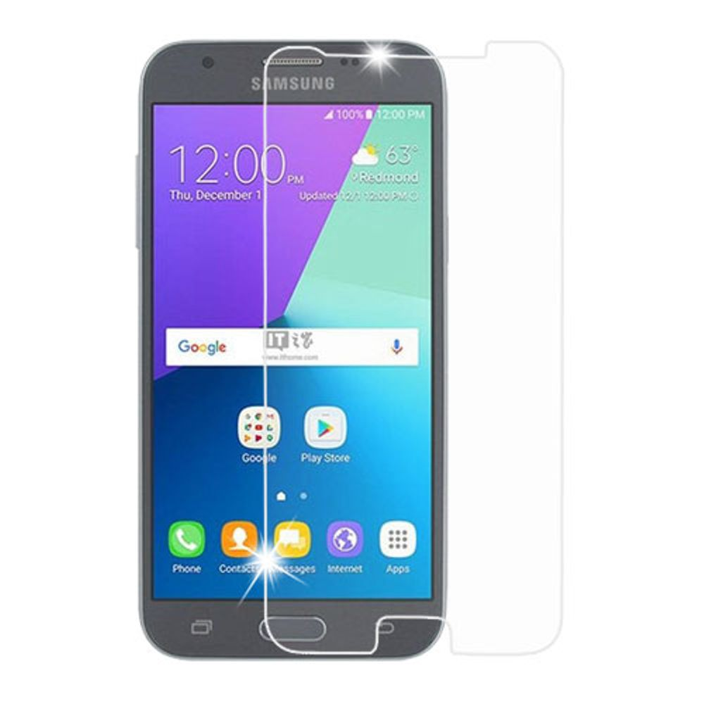 Zeus Tempered Glass For Samsung Galaxy Note 5 Round Edge 25d Clear Xiaomi Redmi Note5 Color Full Cover J3 Screen Protector By Insten Lcd Film