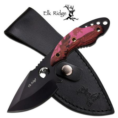 Fixed Blade Hunter Pink Camo
