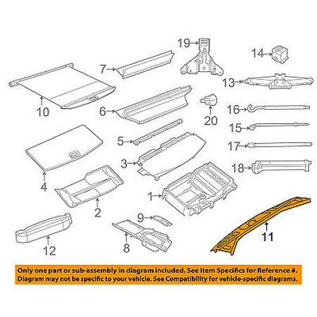 Dodge CHRYSLER OEM 11-17 Durango-Door Sill Plate 1GW67DX9AC