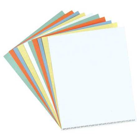 Magna Visual Dc 20W Data Cards  White  Pk 10