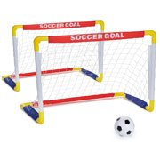 Play Day Foldable Soccer Set, Children's Beginner Sports Soccer Game, Children Ages 3 up