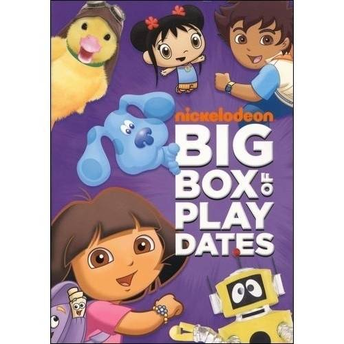 Nick Jr. Favorites: Big Box Of Play Dates - All Star Sports Day! / Celebrate Family! / Animal Friends! (Full -
