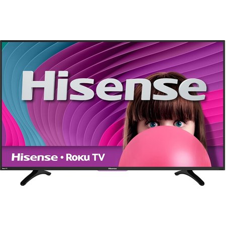 Hisense 48H4C2 48″ 1080p 60Hz Smart HDTV with Roku TV