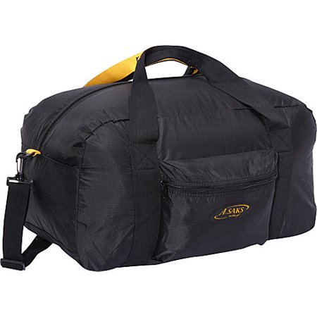 """Image of A. Saks 22"""" Carry On Duffel Bag with Pouch"""