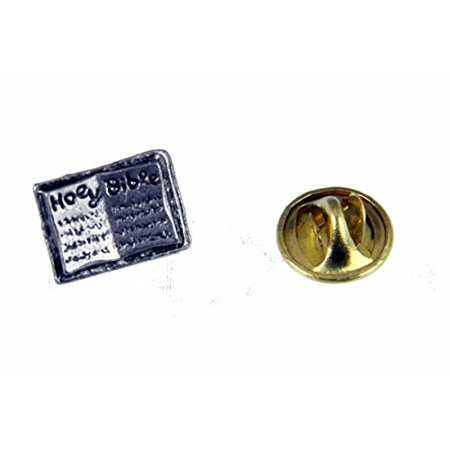 Bible Lapel Pin Holy Bible Scripture Brooch Tie Tack Word of God