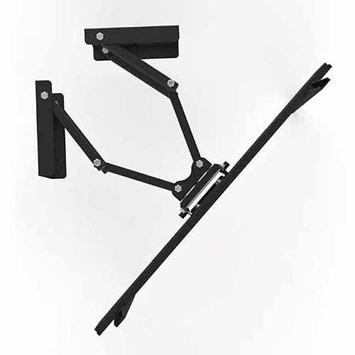 "Arrowmounts AM-FM101 37""-63"" Full Motion TV Corner Mount"