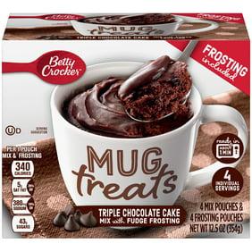Betty Crocker Mug Treats Triple Chocolate Cake 12 5 Oz Box