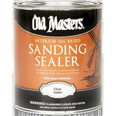 OLD MASTERS 45004 Oil Based Sanding Sealer - 1