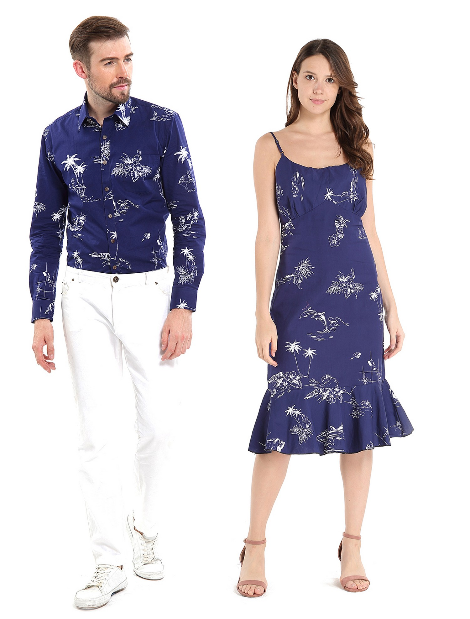 f6f0658a Hawaii Hangover - Couple Matching Hawaiian Luau Cruise Outfit Shirt ...