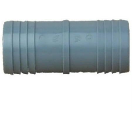 Genova 350 Tubing Coupling, 1/2 in, Insert, Polypropylene