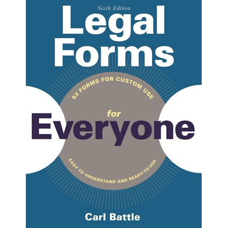 Legal Forms for Everyone : Leases, Home Sales, Avoiding Probate, Living Wills, Trusts, Divorce, Copyrights, and Much