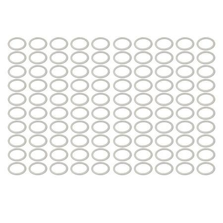 100Pcs 27mmx34mmx1.5mm Aluminum Motorcycle Hardware Drain Plug Washer - image 3 of 3